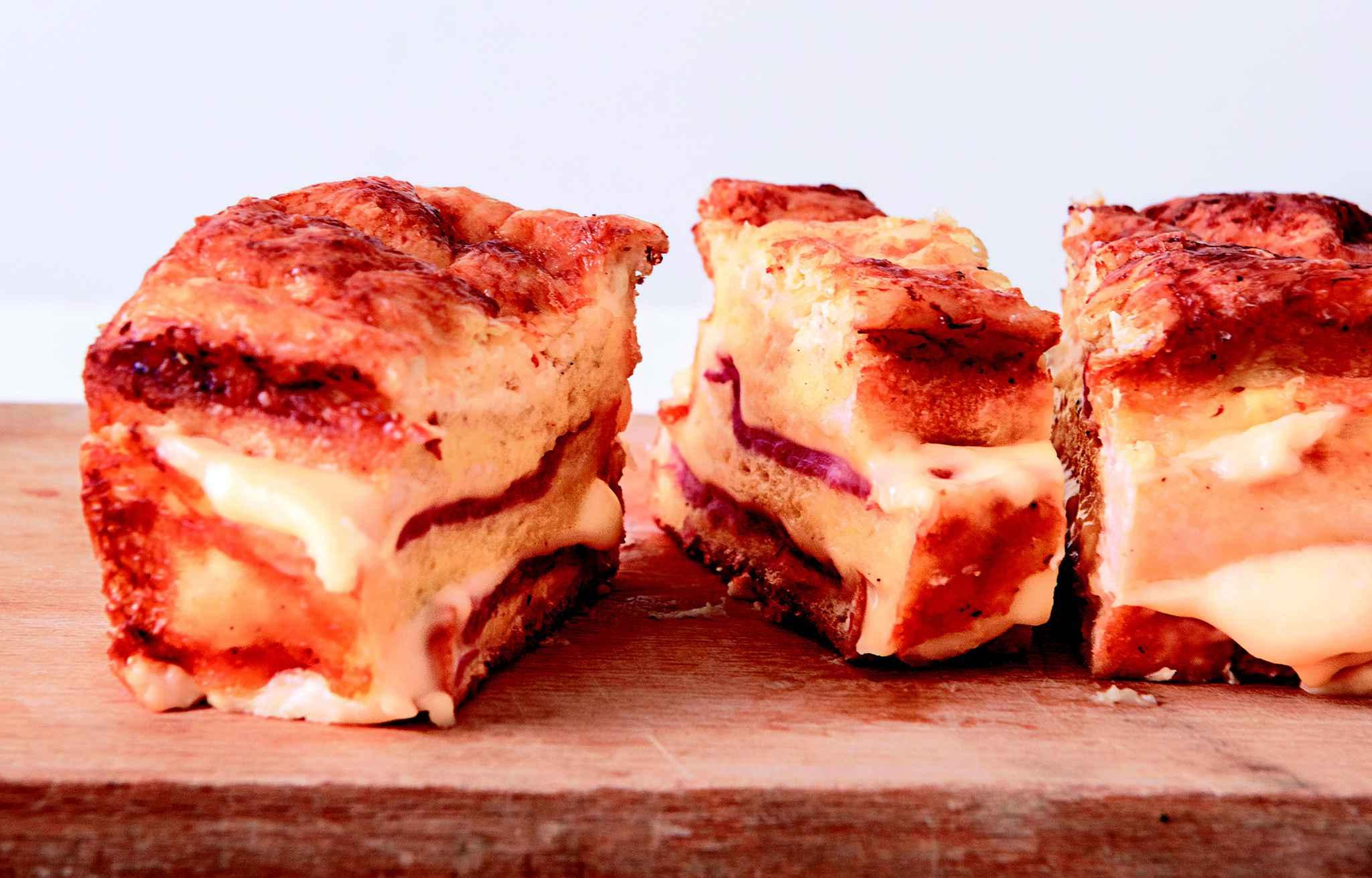 le croque cake un plat convivial facile et pas cher