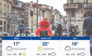 Météo Bordeaux: Prévisions du dimanche 1 août 2021