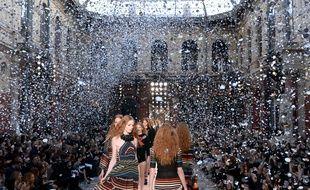 Le défilé Sonia Rykiel, le 3 octobre 2016, lors de la Fashion Week parisienne.