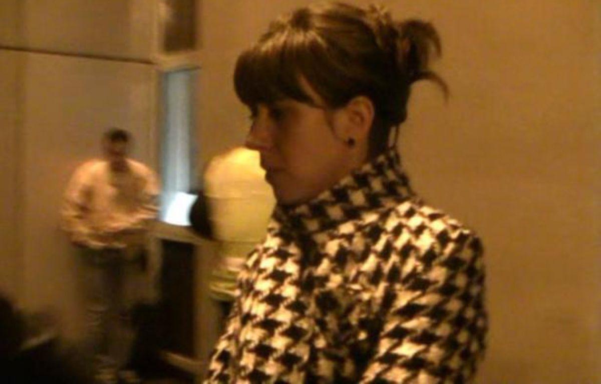"""La militante basque française de Batasuna incarcérée à Madrid depuis début novembre est """"sereine et déterminée"""", a déclaré à l'AFP Catherine Grèze, députée européenne EELV qui l'a rencontrée vendredi en prison au côté de la sénatrice de Seine-et-Marne Hélène Lipietz. –  afp.com"""