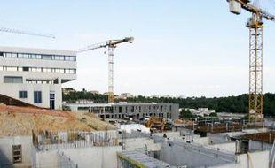 Près de 200 ouvriers seront mobilisés sur ce chantier au plus fort des travaux.