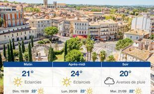 Météo Montpellier: Prévisions du samedi 18 septembre 2021