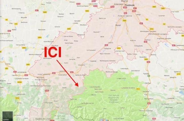 A quelques kilomètres près, c'était l'Ariège et il n'y avait plus d'embrouille avec le district de la Haute-Garonne.