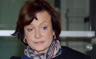 Florence Woerth, la femme de l'ancien ministre du Budget Eric Woerth. AFP PHOTO / JEAN PIERRE MULLER