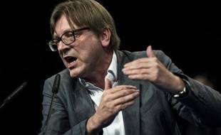 Guy Verhofstadt le 30 avril 2014 à Lyon