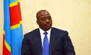 Le président Joseph Kabila le 19 janvier 2015 à Kinshasa