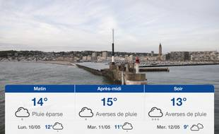 Météo Le Havre: Prévisions du dimanche 9 mai 2021