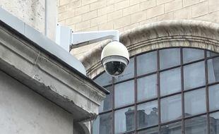 Une caméra de vidéosurveillance à Lyon. Illustration.