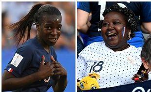 Viviane Asseyi est très fier de sa maman Sidonie.