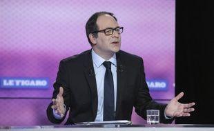 Emmanuel Maurel, candidat au poste de Premier secrétaire du PS