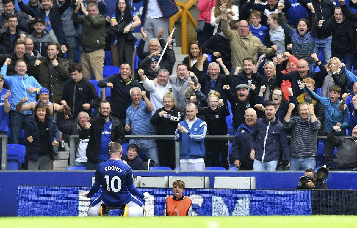 Wayne Rooney à Everton – SIPA