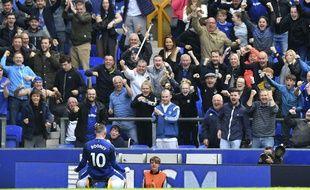 Wayne Rooney à Everton