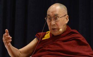 Le dalaï-lama, le 12 décembre 2018 à Bombay en Inde.