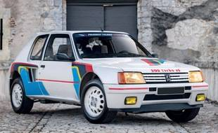Peugeot 205 Turbo 16 ex-Jean Todt