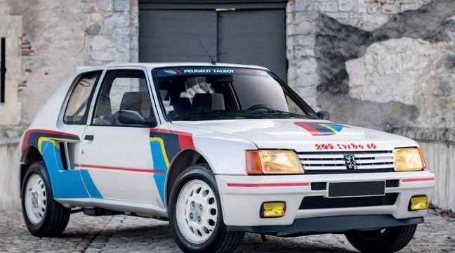 Cette Peugeot 205 s'est vendue une fortune