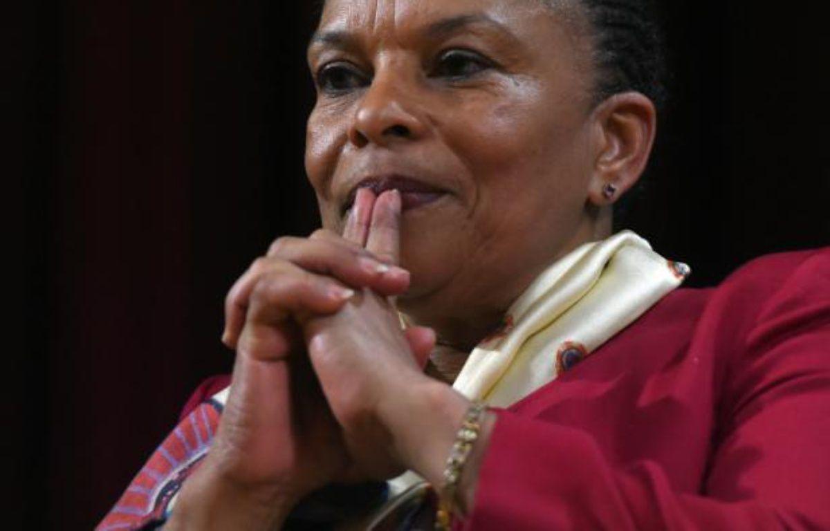 L'ancienne ministre de la Justice, Christiane Taubira, le 29 janvier 2016 à New York – Jewel Samad AFP