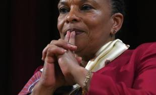 L'ancienne ministre de la Justice, Christiane Taubira, le 29 janvier 2016 à New York
