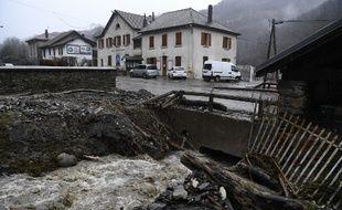Les dommages causés par la tempête Eleanor, le 4 janvier 2018.
