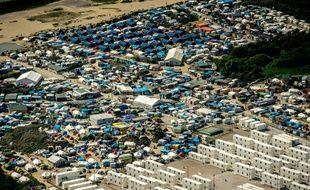 La « Jungle » de Calais.