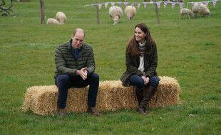 Le duc et la duchesse de Cambridge à la Manor Farm de Durham