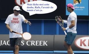 Toni Nadal n'a plus de job chez les pros, mais il a des idées.
