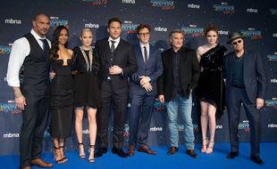 Le casting des Gardiens de la Galaxie autour du réalisateur James Gunn