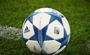 Un ballon de foot. (Illustration)