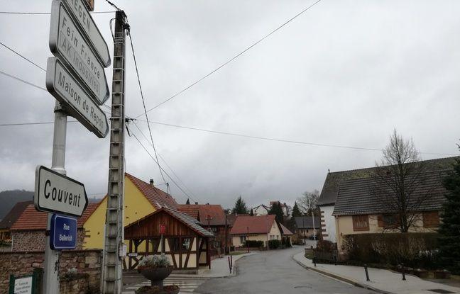 Le couvent de Thal-Marmoutier où sont accueillis les 55 réfugiés se trouve au cœur de la petite commune alsacienne située au pied des montagnes vosgiennes.