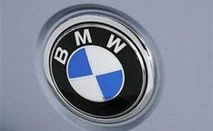 Le logo de la célébrissime marque d'automobiles allemande