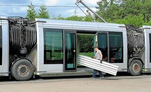 Les trams sur pneus fabriqués à Duppigheim seront estampillés Alstom.