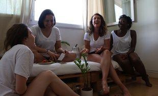 La marque française FEMPO commercialise des culottes menstruelles grâce auxquelles il n'est plus nécessaire de porter de protections hygiéniques jetables.