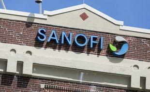 L'enseigne d'une usine de Sanofi, aux Etats-Unis. (illustration)