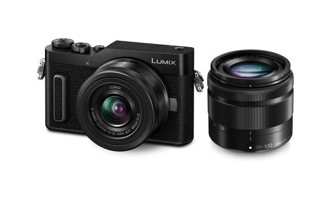 Le Lumix GX800 et ses optiques interchangeables.