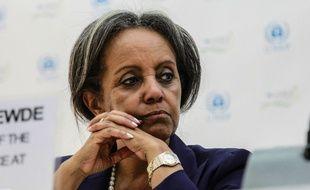 La nouvelle présidente éthiopienne Sahle-Work Zewde, première femme à accéder à ce poste politique (ici en 2014).