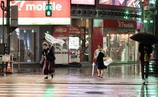 Le typhon Trami est passé sur Tokyo dans la nuit de dimanche à lundi.