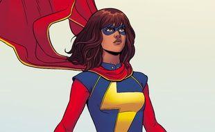 Kamala Khan, alias Miss Marvel, la seule et unique super-héroïne musulmane de l'univers Marvel.