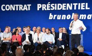 Bruno Le Maire à Sète le 17 septembre 2016.