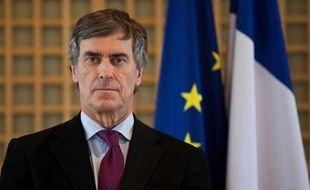 Jérôme Cahuzac, le 23 janvier 2013, lors de ses voeux à la presse.