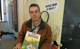 """Nicolas Rouvière défend une """"lecture universaliste d'Astérix""""."""