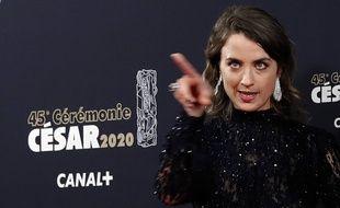 Adèle Haenel à la cérémonie des César, le 28 février 2020.