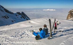 La neige dans les Pyrénées, une ressource appelée à se raréfier.