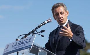 Nicolas Sarkozy à la Baule, le 5 septembre 2015.