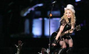 Madonna, le 20 septembre 2008 au Stade de France, à Saint-Denis.