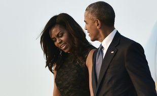 Michelle et Barack Obama à Maryland le 12 juillet 2016