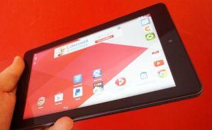 La Cdispplay est une tablette de 7 pouces avec dalle IPS vendu moins de 50 euros.