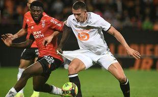 Le Lillois Botman a été en difficulté face à Lorient
