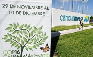 Le centre de conférences de Cancun, au Mexique.