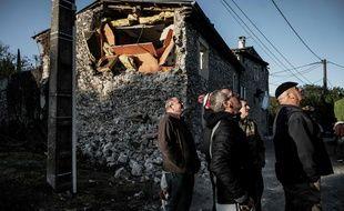 A Teil en Ardèche, le séisme a causé de sérieux dégâts