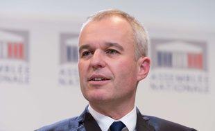 François de Rugy, président LREM de l'Assemblée nationale, le 9 octobre 2017 à l'Assemblée nationale