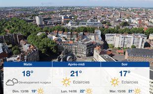 Météo Lille: Prévisions du samedi 12 juin 2021